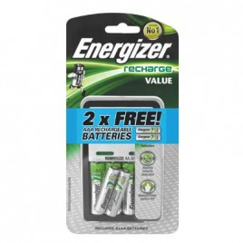 ENERGIZER Battery Rechargerwith4AA 1300mah