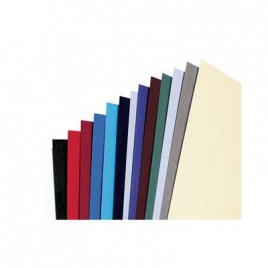 Rexel Binding Covers, A4, 285gsm, Leather Finish Board