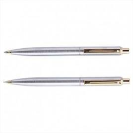 Sheaffer Ballpen & Pencil Set, Brushed Gold Trim