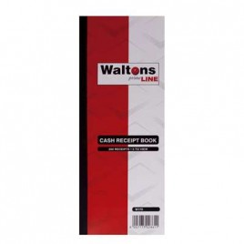 Cash Receipt Book, 111x275mm, 200 Pages, JD408, 5 To View