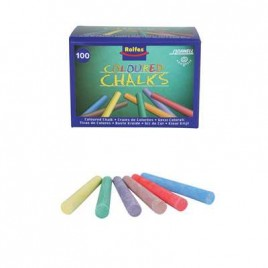 Drawell Chalk, Assorted Colours,Chalk