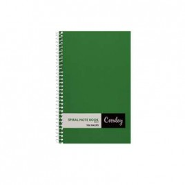 Note Book, Side Wiro Bound, 101x159mm, 96 Pages, JD366