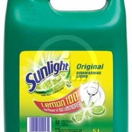 Sunlight Dishwashing Liquid 5 Litre