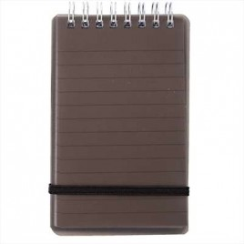 PP Cover Spiral Notebook 80Sheets 105×74 W97