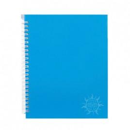 Primeline note book A5 wiro fluorescent 100pg 218mmx168mm WIR20107WAL (Blue)