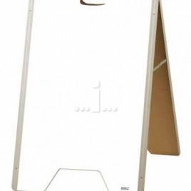 Parrot A-Frame Whiteboard Aluminium 900x600mm