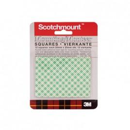 Scotch Mounting Squares 25mmx25mm